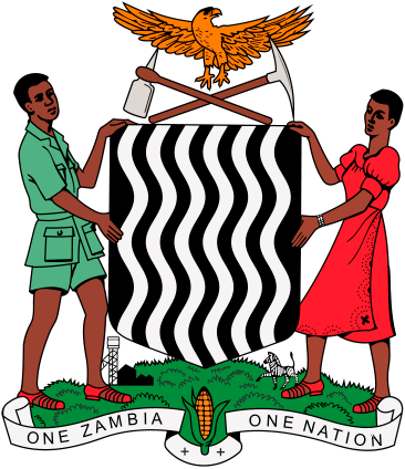 The Coat Of Arms Of Zambia