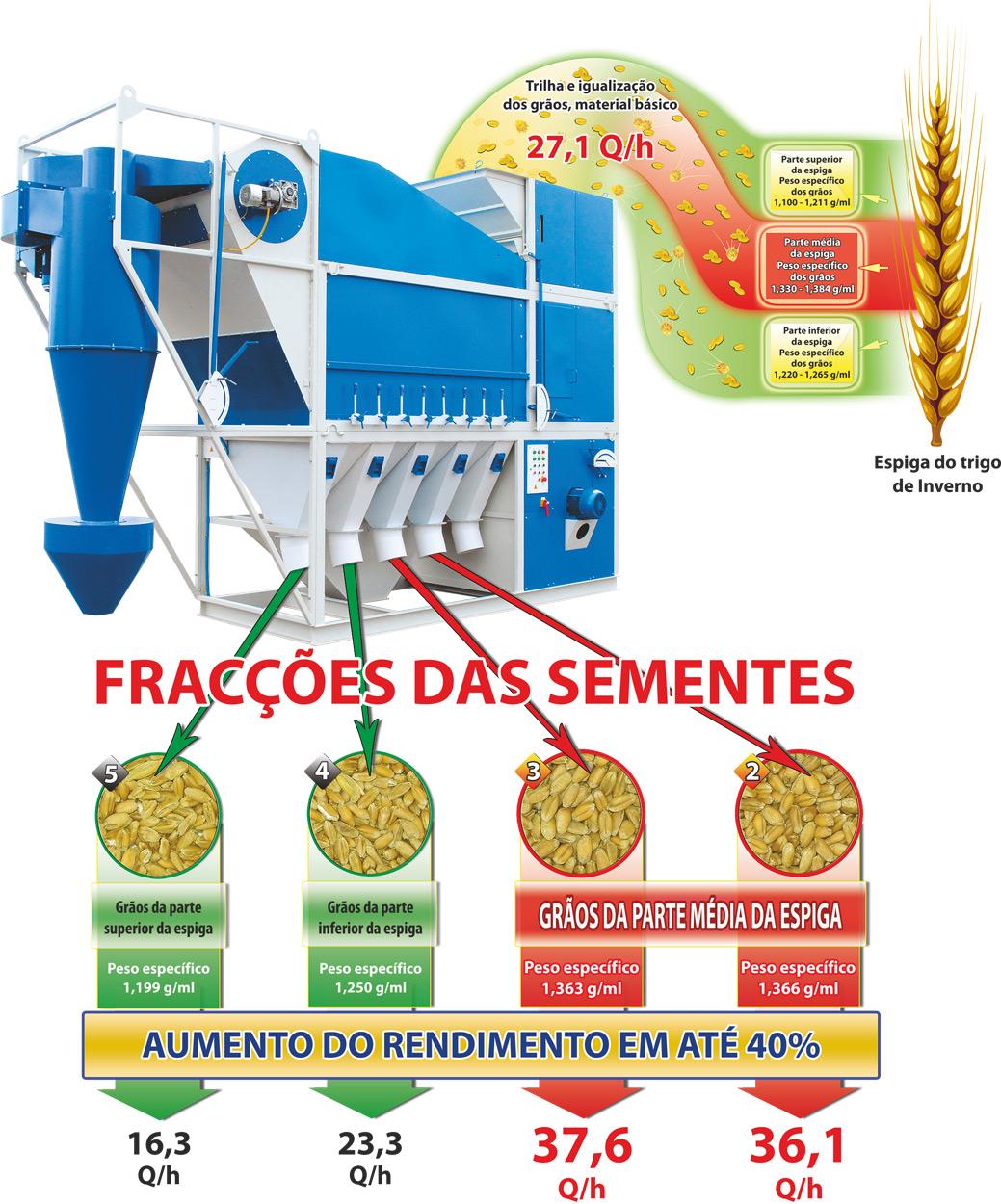 O sistema tecnológico de produção das sementes nas máquinas de limpeza de grãos CAD SAD